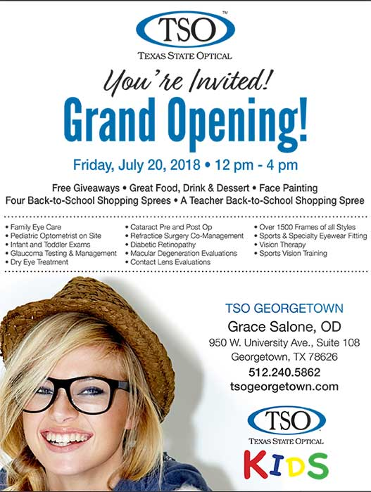 grand opening event tso georgetown tx